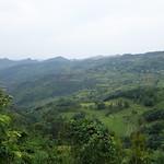Blick über die wunderschöne Landschaft von Sapa