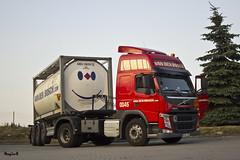"Volvo FM IV Globetrotter "" VAN DEN BOSCH "" (H) (magicv8m) Tags: volvo den transport van trans fm iv bosch globetrotter lkw tir"