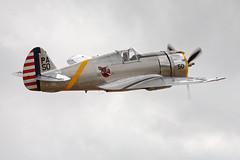 Curtiss P-36C Hawk 75 NX80FR / PA-50 (In Memoriam Andy C's Pics) Tags: duxford curtiss imperialwarmuseum iwm flyinglegends hawk75 duxfordflyinglegends pa50 p36c nx80fr