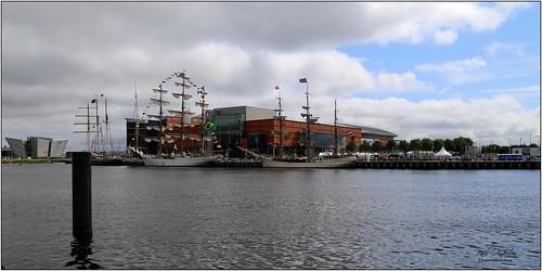 Tall Ships, Belfast, Northern Ireland 2015