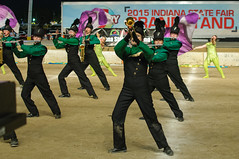 2015 Northeastern - State Fair Band Day (WayNet.org) Tags: music track indianapolis statefair contest guard band indiana instrument marching marchingband northeastern bandday indianastatefair fountaincity damsels auxillary marchingknights waynecountynortheasternhighschool