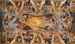 Adiuva me ! (petarslo) Tags: catholic fresco ceilingcathedralljubljana