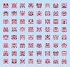 INVADED [Kirby] - #1441365953_[GNRTD64]x[8CLMN]_SZ[840x800] (decadere) Tags: color art project kirby random nintendo creative pixel hype generative processing 8bit palette coding invaded invadedprj