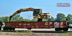 Cp 428287+7502-03 (Milwaukee beerNut) Tags: mow gondola cp wi renewal sturtevant