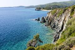 Coast (ToDoe) Tags: blue beach coast meer greece macedonia kliff steilküste küste bucht chalkidiki halkidiki sithonia sandstrand makedonia aquamarin