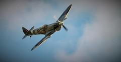 Spitfire Mk.XVI (Jonas.W.) Tags: airshow kjeller supermarine spifire flyshow spifiremkxvi