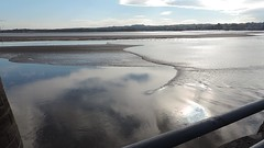 Tide coming in! (s1ng0) Tags: water river cheshire westbank tide places sandbanks mersey widnes spikeisland