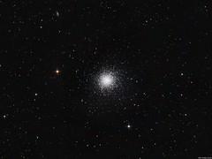 M13 - The Great Globular Cluster in Hercules (Olli Arkko) Tags: astrometrydotnet:status=solved astrometrydotnet:id=nova1265113