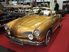 VW Karmann Ghia Cabrio - 1973 (John Steam) Tags: salzburg classic vw volkswagen austria expo oldtimer cabrio 1973 ghia ausstellung cabriolet karmann automobil 2015