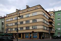 Opole modernism (2) (Krzysztof D.) Tags: architecture modernism poland polska polen opole architektura modernizm shiftn