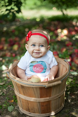 McGinty Apple Picking-3 (danmcginty) Tags: family blue sky baby mountains fall apple engagement nikon toddler photoshoot photos top south north orchard spot ridge hendersonville carolina maeve bows picking mcginty 2015 adanda d700 dmdesign dm|design