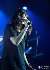 Chvrches @ Paramount Theater (Kirk Stauffer) Tags: show lighting uk red portrait musician music woman brown cute girl beautiful beauty face lady female wonderful hair lights scotland photo amazing concert model eyes nikon women perfect long pretty tour singing sweet song feminine live stage gorgeous teeth awesome gig goddess young band adorable scottish pop lips event precious short sing singer indie attractive stunning vocalist british perform brunette lovely fabulous synthpop electronic venue darling vocals kirk petite stauffer glamorous lovable
