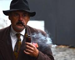 Aficionado (Woody H1) Tags: street urban photography smoke pipe tobacco