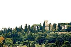 """ IIIoIIYIIIYo - DownHill "" (Petra U.) Tags: italien italy florence hill firenze florenz toskana hgel pinien zypressen"