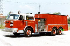 Shelby OH - 1978 ALF (kyfireenginephoto) Tags: crestline greenwich fireengine ashland galion americanlafrance sfd richlandcounty centuryseries ohiofire pumpertanker