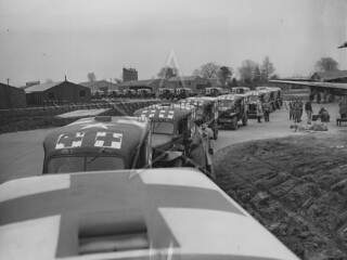 US Army Dodge Ambulances, Maghaberry 1944