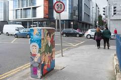 STREET ART AT 38 MARY'S LANE [DUBLIN CANVAS PAINT A BOX PROJECT BOX-TSB4M]-110165