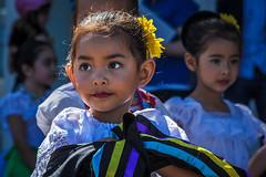 Little Dancer (Abel AP) Tags: california people dancers culture sanjose cultural publicevent mexicanamericanculture abelalcantarphotography vivacallesj