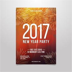 free vector Happy New Year 2017 Party Poster (cgvector) Tags: 2017 abstract background banner bar blurred bokeh brochure cafe card celebration christmas cover curtain december decoration design dinner disco eve event festive flash flyer food glow greeting happy holiday illustration invitation invite light lunch menu new night paper party poster presentation restaurant snow template text typography vector winter xmas year