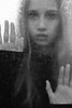 Nice textured glass ;-) (PIXXELGAMES - Robert Krenker) Tags: newspaper news cafe kaffee vienna wien snapshot unknown candid portrait portret schwarzweiss blackandwhite blacknwhite bnw fujifilm fujinon filmsimulation lifestyle street streetstyle urban streetphotographer streetphotography biancoenero glass lockedin lockedup girl caught fear makeup fashion black white ritrato retrato dark textured textur behindglass ghost ghostly bestportraitsaoi
