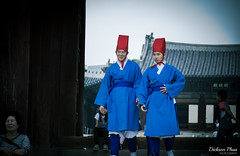 It is time. (gunman47) Tags: 2016 asia changgyeonggung deep korea korean october palace rok republic seoul south costume dress hanbok male past photography present reenactor salute shift street thought traditional 昌慶宮 서울 창경궁 southkorea