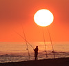 Atardecer (vic_206) Tags: sun atardecer pescando pescador sunset fishing fishermen playa beach