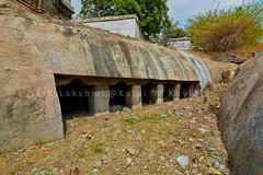 "Araiyaninallur (Arakandanallur) - Rock Cut Cave Temple-Tirukkoyilur Taluk-South Arcot District. (Kalai ""N"" Koyil) Tags: nikon d 5200 tokina 1116mm 2016 araiyaninallur rockcut cavetemple pallava tirukkoyilur taluk southarcot district tamilnadu southindiantemple architecture oppilamanisvarar arakandanallur"