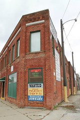 Detroit Antique & Props, Inc. (Flint Foto Factory) Tags: detroit michigan urban city winter december 2016 downtown detrroitantiquesprops antiques props brick building store front 828 fisherfwy vintage extended weekend pre christmas mini vacation holiday
