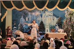 07. Sketch of Bogorodichnoe Village at the Assembly Hall / Сценка с.Богородичное в актовом зале 08.01.2017