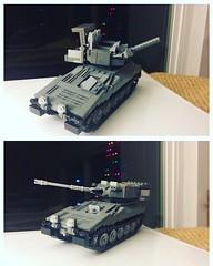 CVRT Family WIP (ABS Defence Systems) Tags: lego afv cvrt scorpion scimitar wip tank armour british uk rac tracked