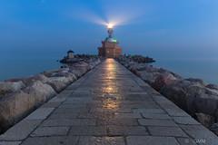 Punta Sabbioni-The Lighthouse (germano manganaro) Tags: veneto venezia venice venise venedig veneza venecia venetië puntasabbioni cavallinotreporti faro lighthouse leuchtturm phare longexposure leefilters венеция