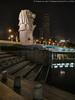 Merlion (20161230-DSC09674) (Michael.Lee.Pics.NYC) Tags: singapore marinabay merlion fountain sculpture jubileebridge esplanadedrive steps night longexposure sony a7rm2 fe2470mmf28gm