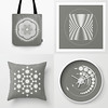 Crop Circle. Alien design (Natalie Sedyakina (Devi)) Tags: vector alien fantastic fiction adobe adobeillustrator graphic design clock pillow bag print sacredgeometry geometry geometric complexgeometry enigma grayscale snowflake floweroflife triangle trigon polygon illustration trance psychedelic psy