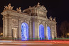 Puerta De Alcala (razor73) Tags: canon 80d tamron 1750 f28 lighttrails traffic madrid spain nightscene