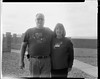 Mom & Dad (Blurmageddon) Tags: film analogphotography 4x5 largeformat speedgraphic ektar127mm47 adoxaph09 blackandwhite trix 320txp family