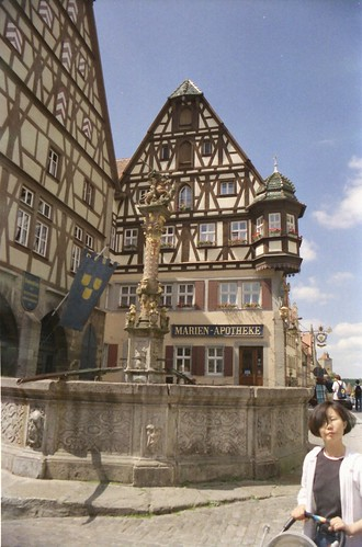 Rothenburg - St. George's Fountain