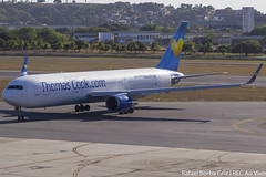 G-DAJC (rafaelborbagriz) Tags: boeing 767300 767 thomas cook em recife pernambuco voo semanal entre frankfurt e alemanha spotter b767 b763 condor