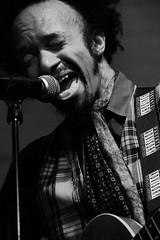 broken battered bruised and scarred (JonBauer) Tags: fantasticnegrito xavierdphrepaulezz thenewparish oakland california singer performer music guitar blackandwhite monochrome nikon d800 70200mmf28gvrii