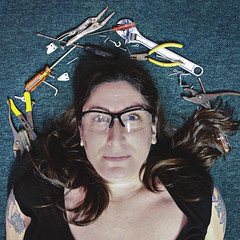 16.365 (sadandbeautiful (Sarah)) Tags: me woman female self selfportrait 365daysx8 365days day16 tools