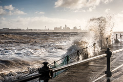 New Brighton. Jan 2017-273 (revpdwilson) Tags: cheshire newbrighton nikon28300mmvr nikond750 seaside wallasey winter wirral landscape naturallight