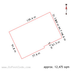 30 Scotts Crossing, Canberra 2601 ACT land size