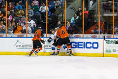 "Missouri Mavericks vs. Wichita Thunder, February 4, 2017, Silverstein Eye Centers Arena, Independence, Missouri.  Photo: John Howe / Howe Creative Photography • <a style=""font-size:0.8em;"" href=""http://www.flickr.com/photos/134016632@N02/32599597582/"" target=""_blank"">View on Flickr</a>"