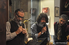 N2122877 (pierino sacchi) Tags: kammerspiel brunocerutti feliceclemente igorpoletti improvvisata jazz letture libreriacardano musica sassofono sax stranoduo