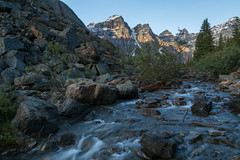 Flowing out of Lake Moraine (Ken Krach Photography) Tags: banffnationalpark