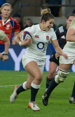 England v France #14 (Claire Stones) Tags: france redroses twickenham 6nations rugbyunion 2017 twickenhamstadium rugby englandvfrance england sixnations womensrugby