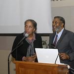 Professor Barnes and Du Bois lecturer Professor Campbell, Spring 2012
