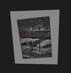 High Noon - Director`s cigarette pause not at the breakroom but outside - seen through the window of Prompters` Office Regisseur auf Rauchpause draußen vor der Tür nicht im Pausenraum. Gesehen durchs Fenster von E1 Dienstzimmer Inspizienten Souffleusen (hedbavny) Tags: schneefall winter present geschenk gift theater theatre baum tree park work arbeit regie regisseur think denken nachdenken überlegen denker probe rehearsal zinnober red rot autobus bus lampe auto car künstler artist wien vienna austria österreich hedbavny ingridhedbavny blut blood blutrot blau blue schild sign verkehrsschild station haltestelle wasser water schnee snow transparent durchsichtig weis white schwarz black portrait porträt beard bart bearded bärtig mann man male brille spectacles goggles handwerk pause fermate diary tagebuch