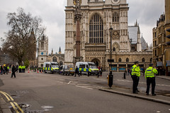 Police Cordon following attack at Westminster. (sinister pictures) Tags: candlelit vigil trafalgarsquare rememberance westminster terrorattack victims terrorism london uk england unitedkingdon gbr