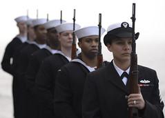 170315-N-XL056-338 (U.S. Pacific Fleet) Tags: ussnimitz cvn68 sailors my68 aircraftcarrier csg11 usnavy weaponsdepartment burialatsea 21gunsalute pacificocean