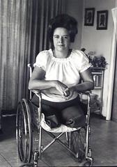 Legless lady 02 (jackcast2015) Tags: amputee legamputee wheelchairwoman wheelchair disabledwoman crippledwoman amputeewoman nolegs doubleabovekneeamputee dakamputee